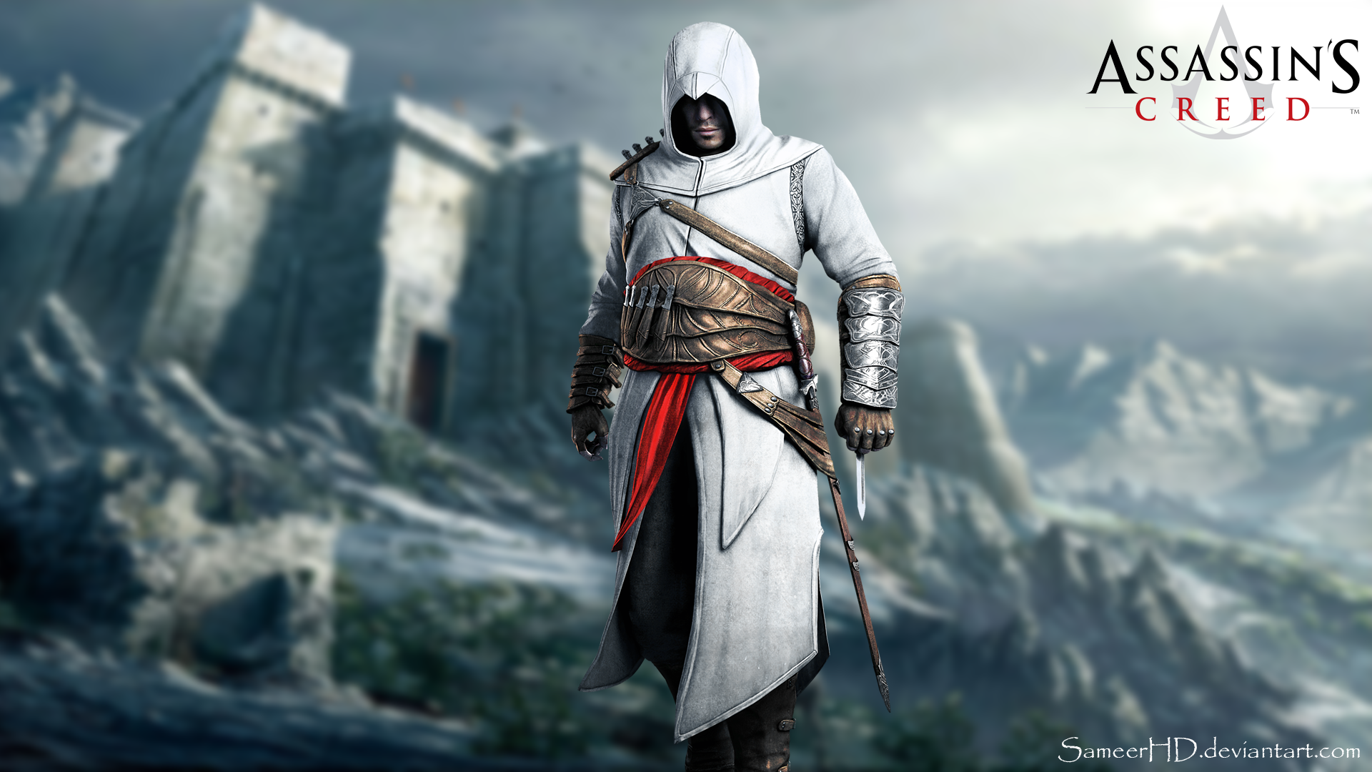 Assassin S Creed Altair Ibn La Ahad Wallpaper By Sameerhd On