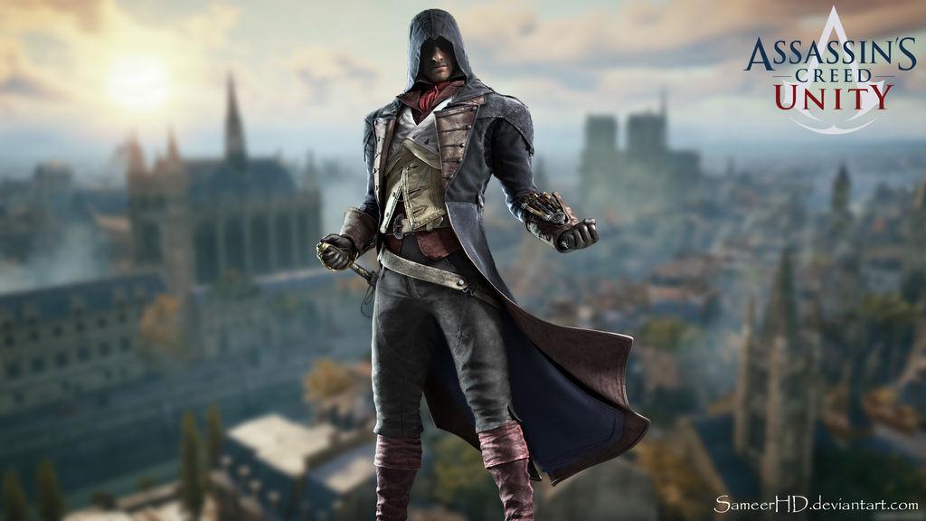 Assassins Creed Unity Arno Dorian Wallpaper By Sameerhd On