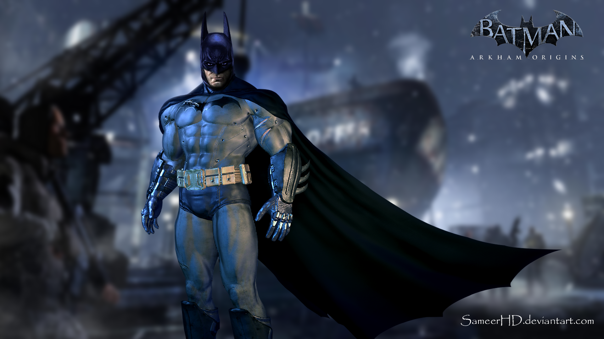Batman Arkham Origins Wallpaper By SameerHD