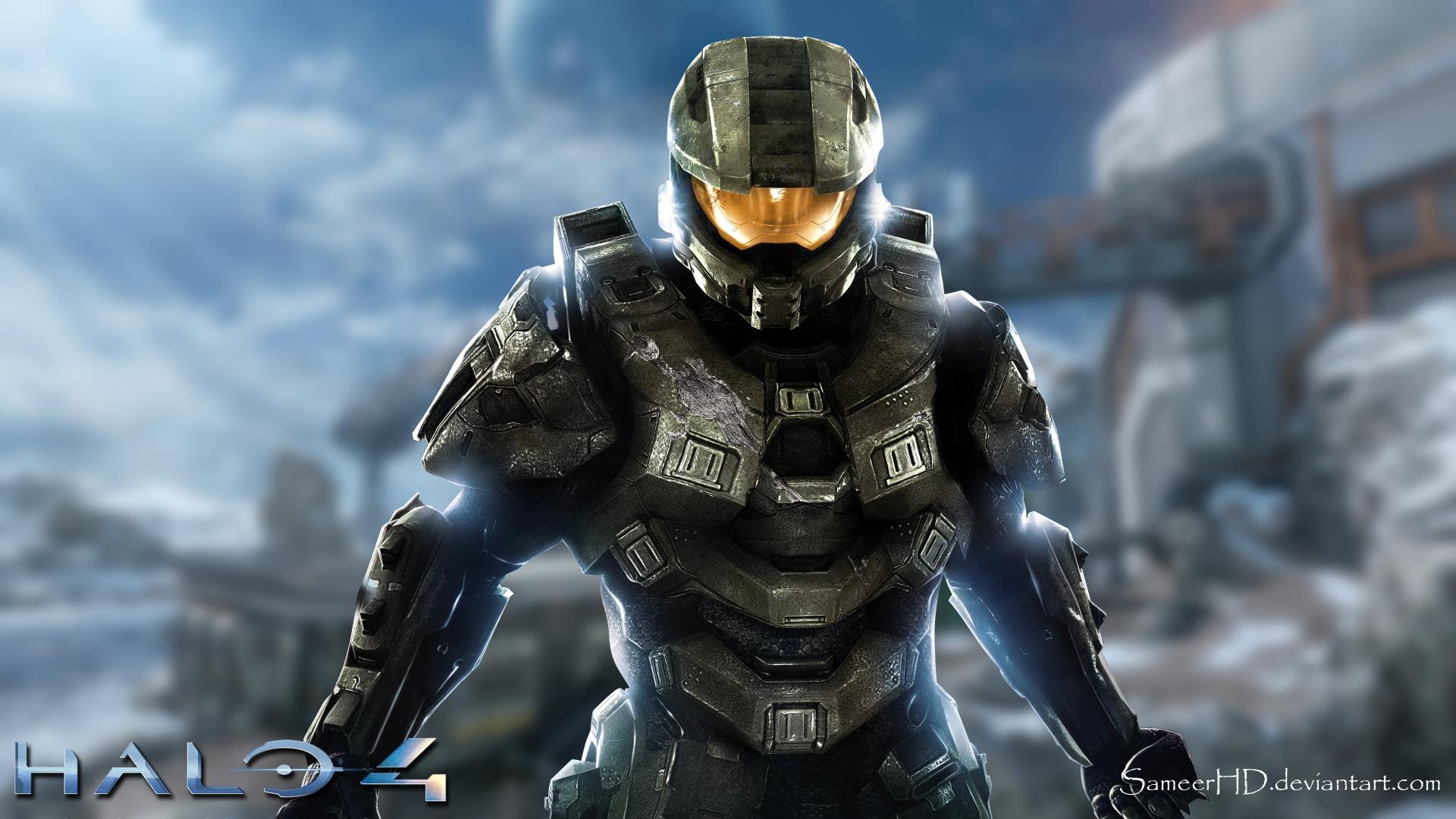 Halo 4 Master Chief Wallpaper By Sameerhd On Deviantart