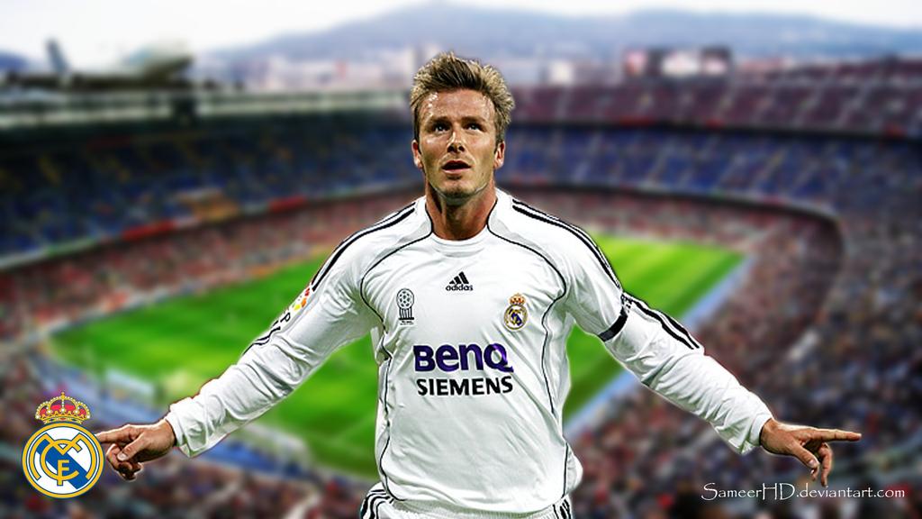 Real Madrid David Beckham Wallpaper By SameerHD