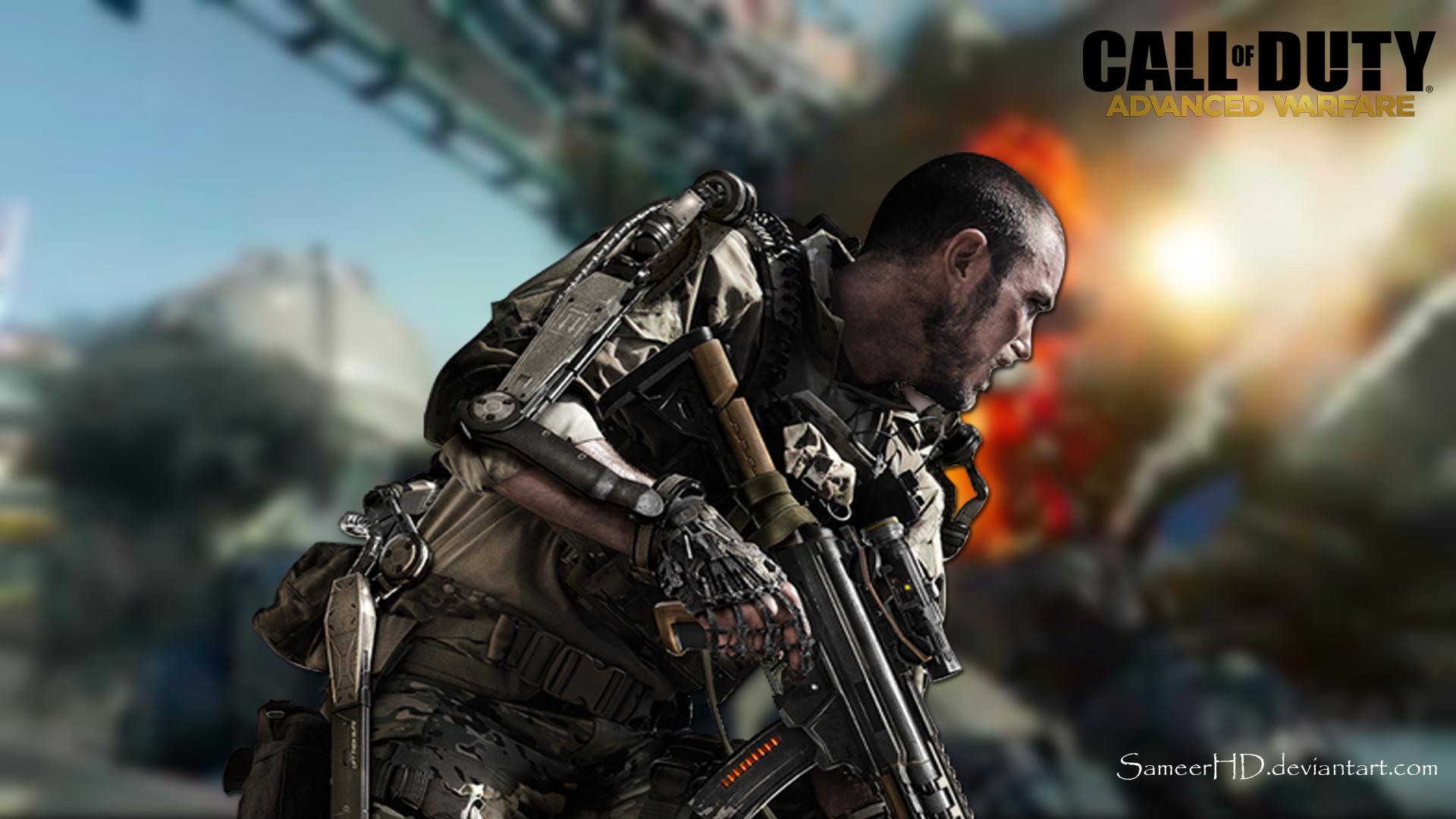 Call Of Duty Advanced Warfare Soldier Wallpaper By Sameerhd On Deviantart