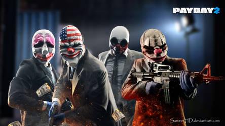 Payday 2 Gang Wallpaper