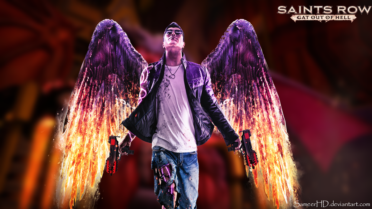 Saints row gat out of hell johnny gat wallapaper by sameerhd on saints row gat out of hell johnny gat wallapaper by sameerhd voltagebd Images