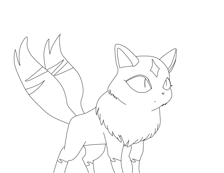 coloring book pages of kirara - photo#1