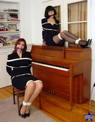 Damsels Loren Chance and KimberlyMarvel by JonWoods