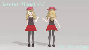 MMD Model LAT Serena 2.0 Download
