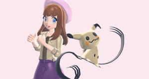Melanie and Mimikyu