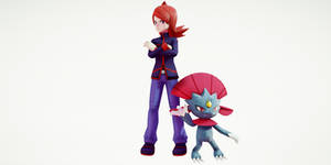 Silver and Weavile
