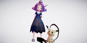 Acerola and Mimikyu