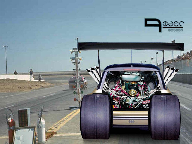 MINI Cooper Drag Car by 360rider on DeviantArt