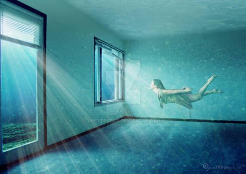 Underwater yvette