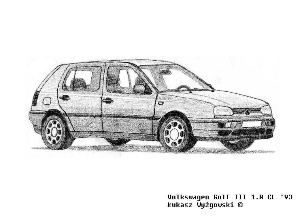 volkswagen golf iii 1 8 cl by lew gtr on deviantart. Black Bedroom Furniture Sets. Home Design Ideas