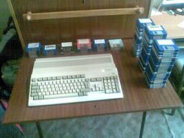 My Amiga 500+ by Lew-GTR