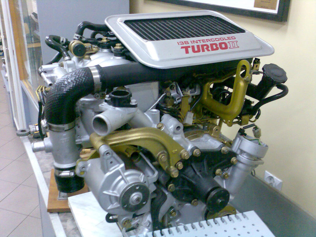 Mazda 13B Engine by Lew-GTR on DeviantArt