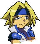 Blue - Gunstar Super Heroes