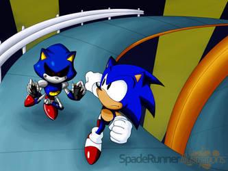 Sonic - Stardust Speedway by Cinos-Hedgean