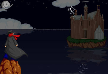Assault on Castle Sprite by Cinos-Hedgean