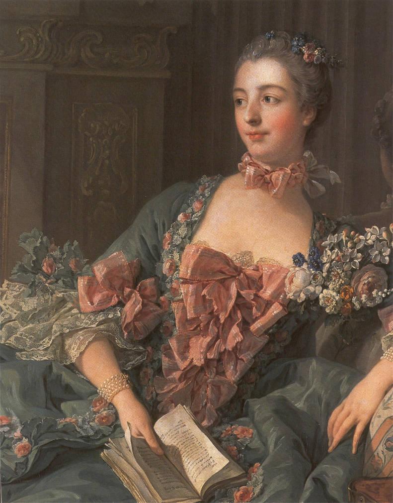 Madame de Pompadour Minecraft Skin