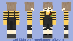 Boy in Dungarees, but it's better Minecraft Skin