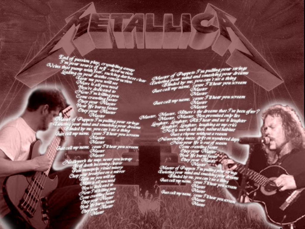 Metallica Master Of Puppets By Helmetkamikazepilot On Deviantart