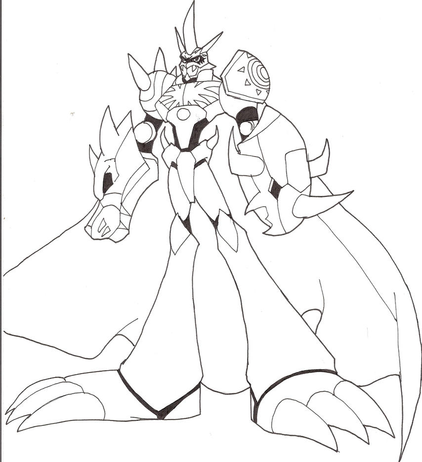 digimon data squad coloring pages - photo#25