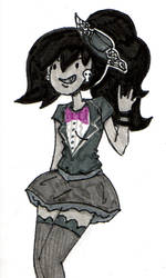 Marcy's Party Outfit by pinkfizzypops