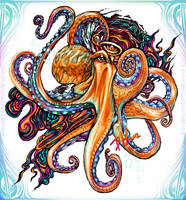 Octopus Ink by Doug-Howard