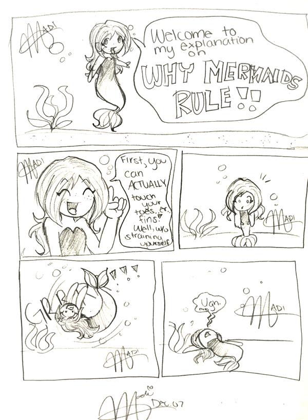 Comic: Why Mermaids Rule by Dakotaa