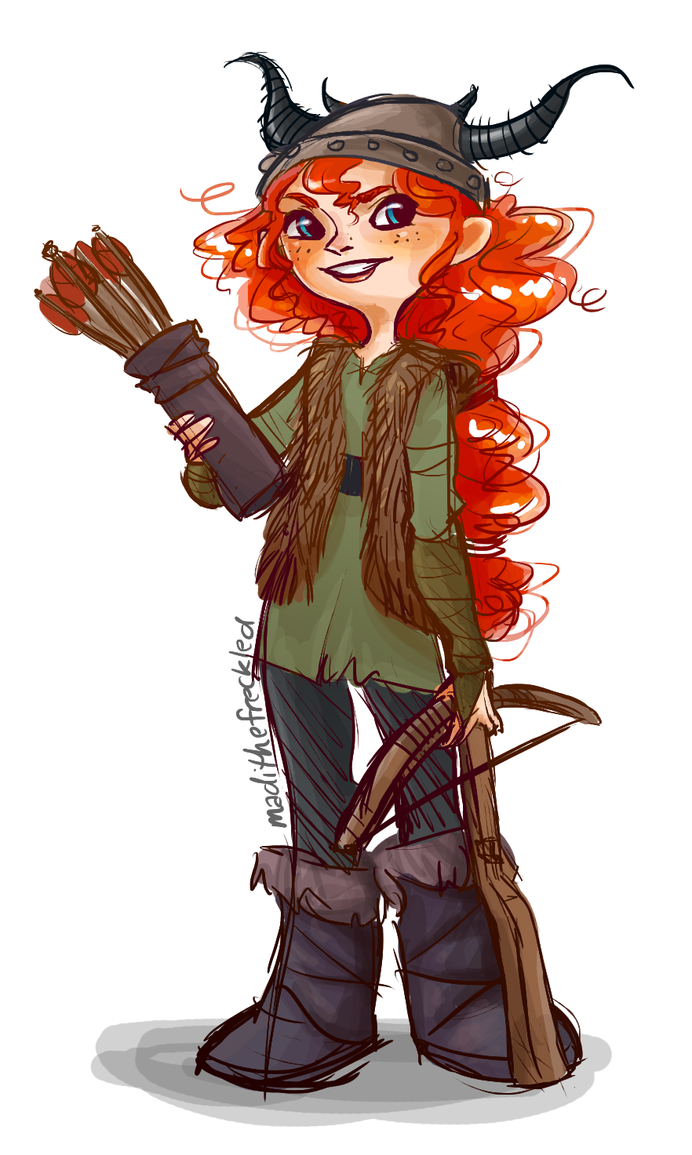 Merida Haddock III? by Dakotaa