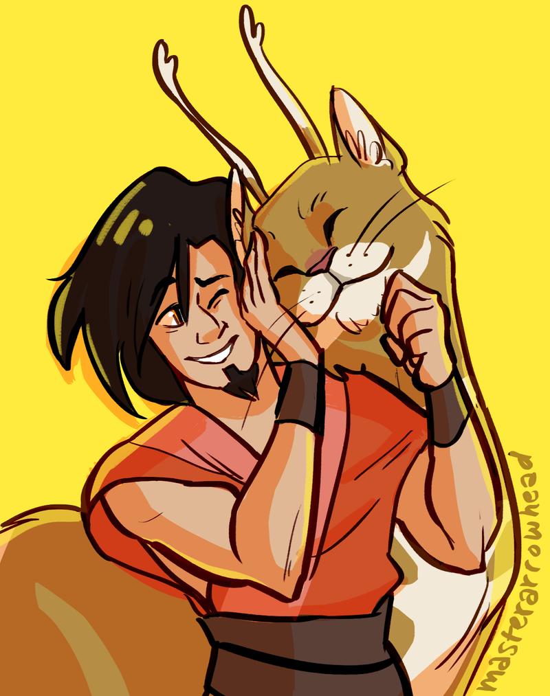 Avatar Wan and Mula by Dakotaa