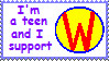 I Support Wonder Pets Stamp by akkigrl