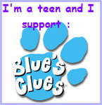 I support Blue's Clues