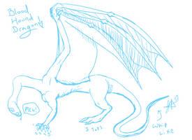 Blood Hound Dragon