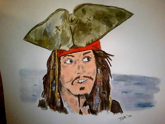 Captain Jack Sparrow by JonnyNova