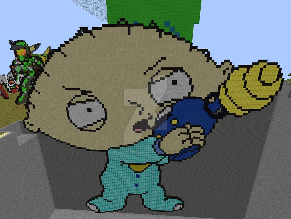 Family Guy Pixel Art Wwwbilderbestecom