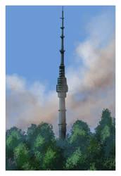 Moscow, Ostankino TV Tower