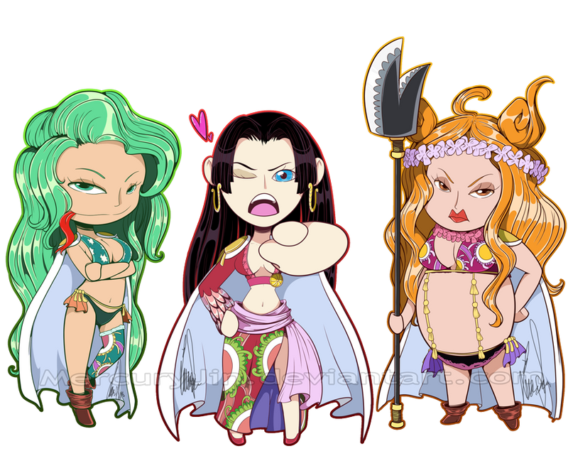 Gorgon Sisters One Piece Gorgon Sisters by Merc...