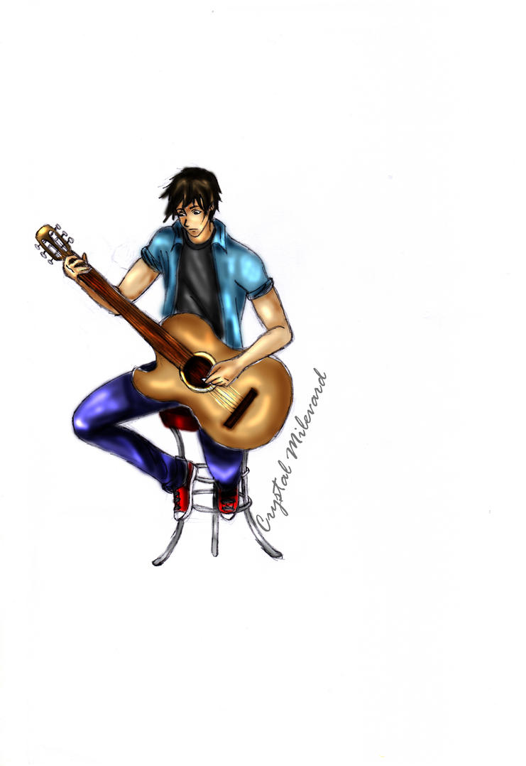 Guitarist by CrystalMilevard