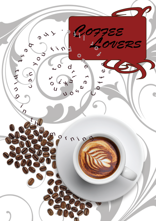 Coffe Lovers Menu by CrystalMilevard