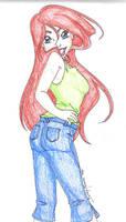 Ariel, Strike a pose