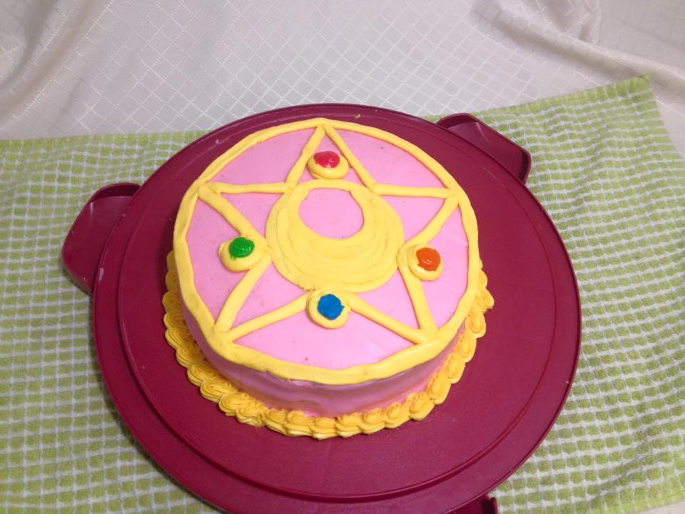 Sailor Moon Brooch Cake By Jupta On Deviantart Scanlations for sailor moon, codename: sailor moon brooch cake by jupta on