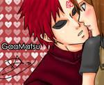 Naruto:Gaamatsu unexpected kiss