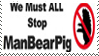 Stop Manbearpig stamp by ZuzuTheMudkip