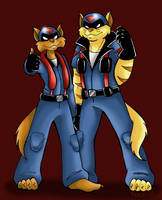 The SWAT Kats :guitar riff: by The-Starcow