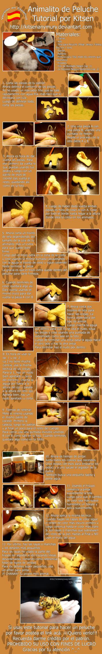 Tutorial: Little Animal Plush Esp by KitsenAnyMury