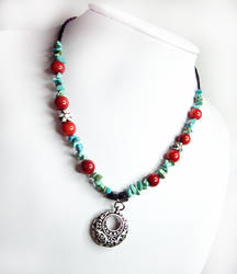 SOLD - Turquoise necklace by MyArtself