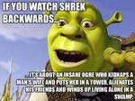 Shrek is just...