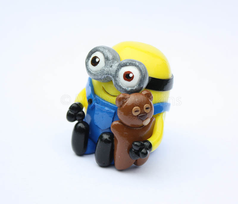 Minion Bob With Teddy Bear By DragonsDust ...