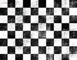 Black Rock Shooter checker pattern